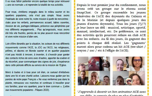Info'MO du 62 (Arras) - Spécial confiement