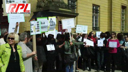 Metz : révolte dans les greffes, rassemblement du 5 juin 2014
