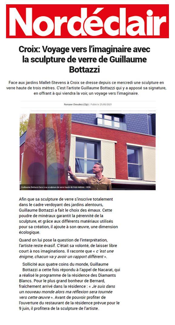 Guillaume Bottazzi - Journal Nord éclair