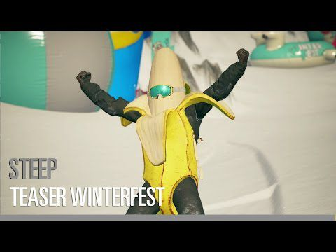 ACTUALITE : Le nouveau #DLC pour #Steep #Winterfest dispo le 3 Mai