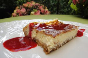 "Le ""Light"" Cheese-cake du printemps"