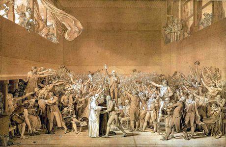 Le serment du Jeu de Paume - 20 juin 1789 (2nde B/C)