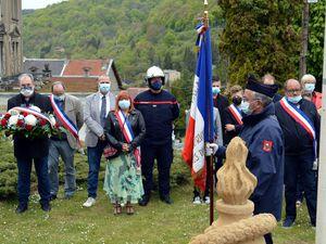 Commémoration du 8 mai à Algrange en 2021