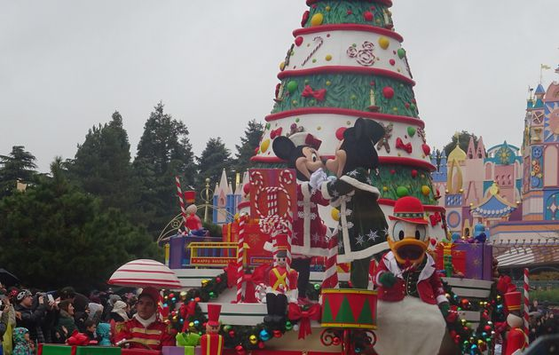 Le Noël enchanté Disney à Disneyland Paris (2017)