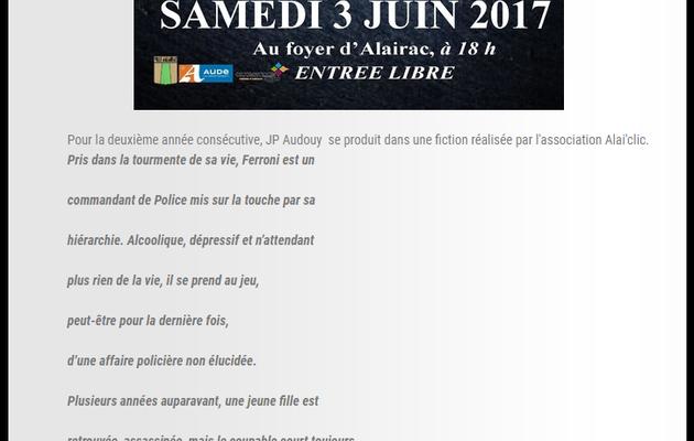 Samedi 3 juin, projection et expo photo à Alairac