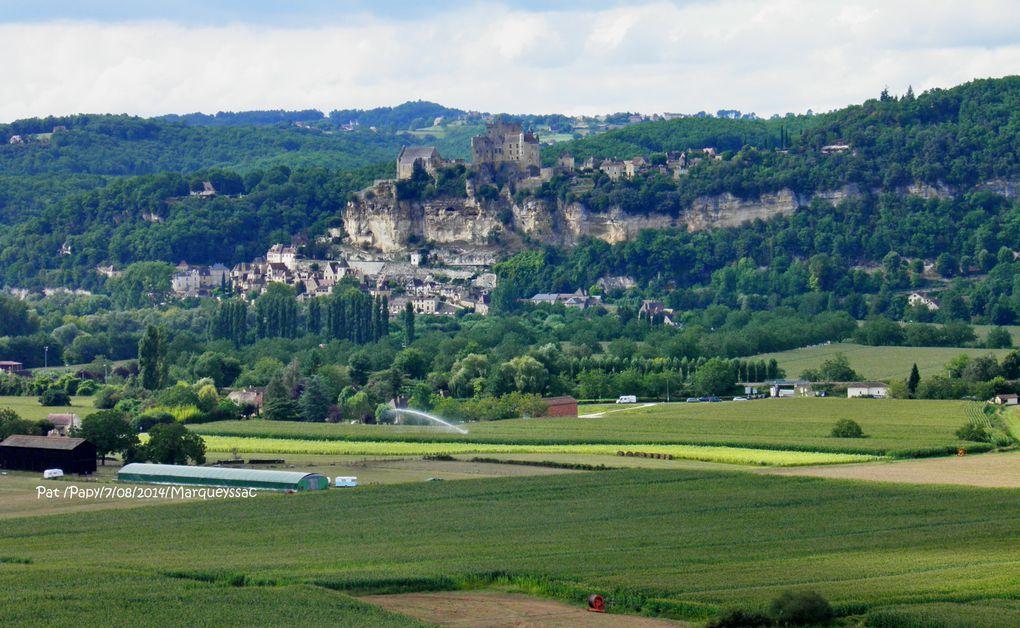 """Un panorama éblouissant à 9 km de Sarlat """"le belvédère de la Dordogne """" ..les jardins de Marqueyssac"""