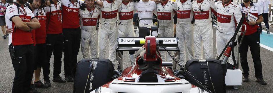 Sparco remplace OMP chez Sauber