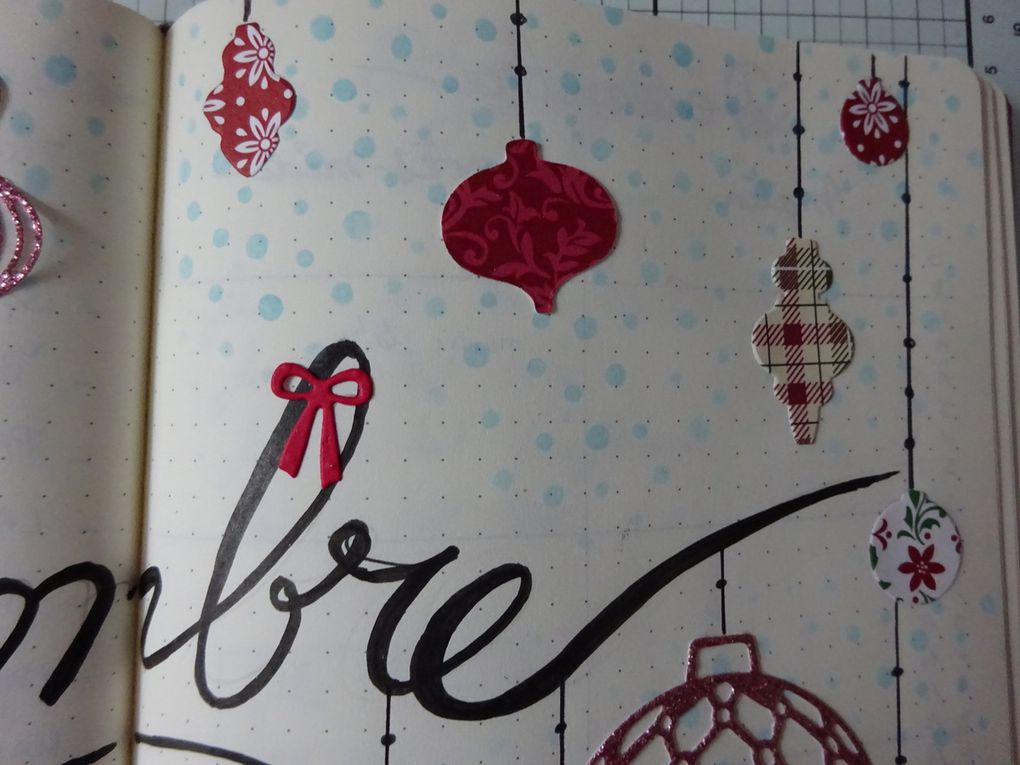 Bullet Journal: plan with me décembre