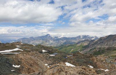 Randonnée ADAPAR Val d'Isère Le Manchet à sous le Col de la Rocheure le 30.07.21