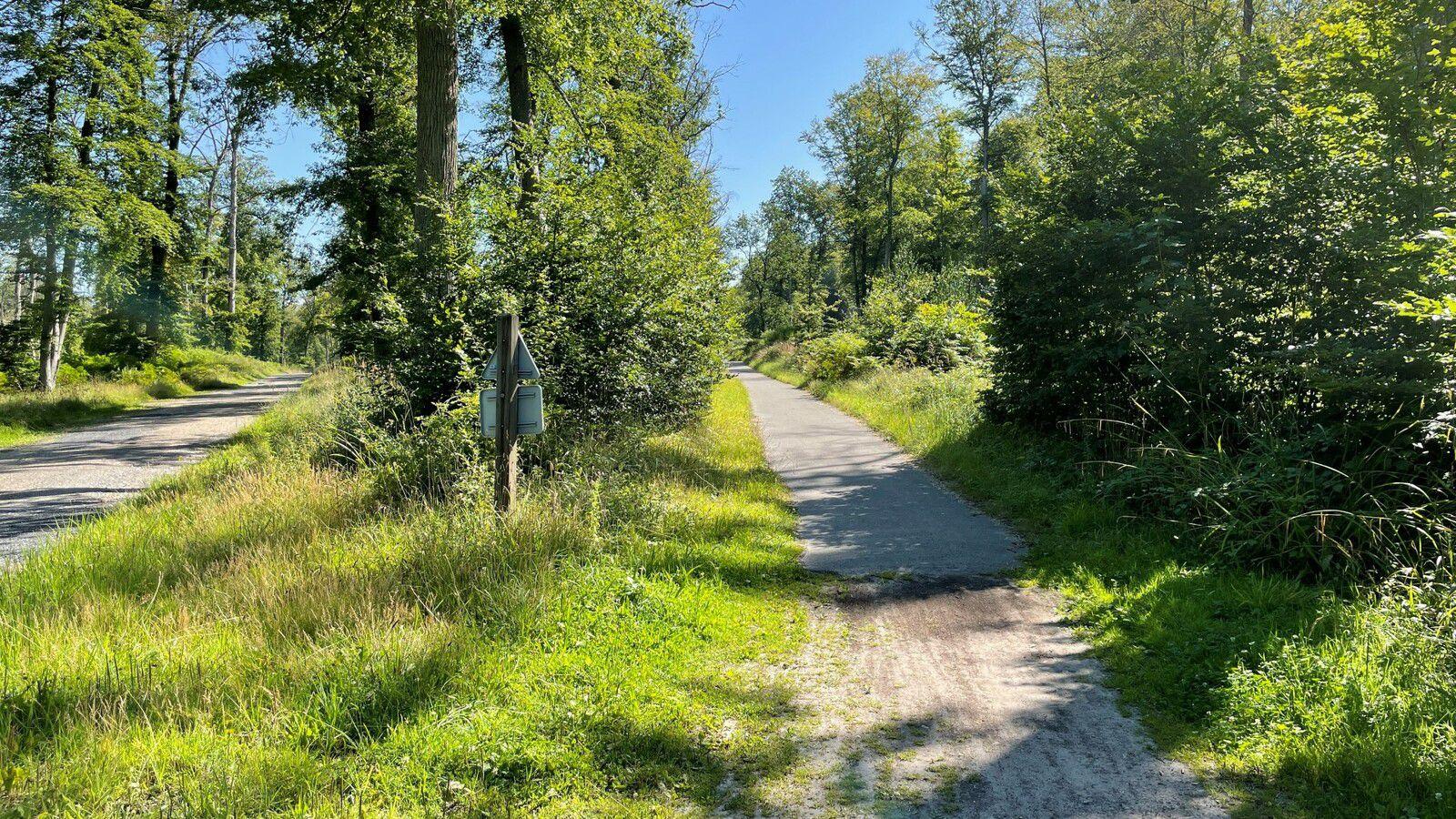 le carrefour des Etangs de Batigny