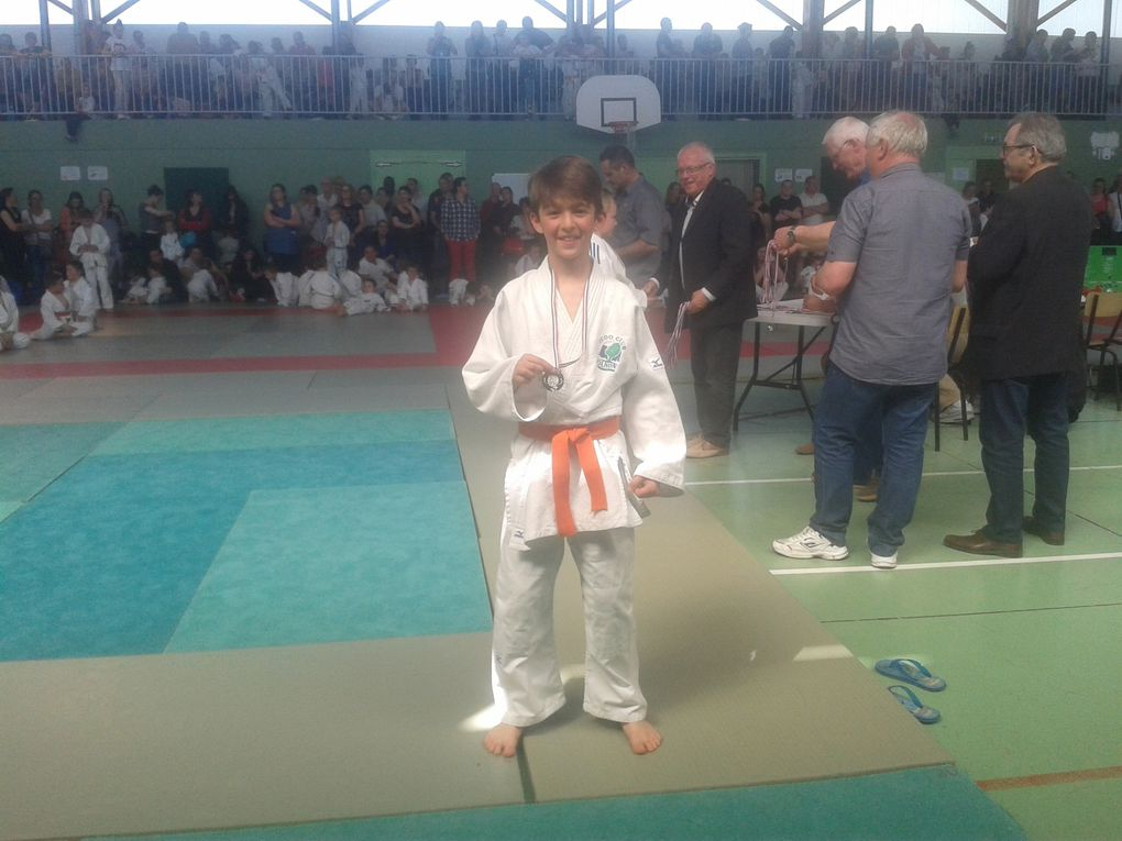Tournoi Claude Manable du Judo Club du Canton d'ANIZY-LE-CHATEAU le 05/05/16