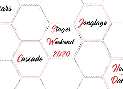 Stages week-end - Mars 2020
