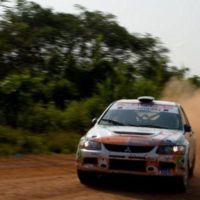 Rallye de Côte d'Ivoire - Bandama 2012, de l'Art Rallystique !!