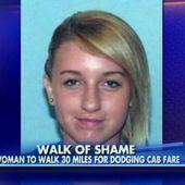 Usa: non paga il taxi, condannata a camminare