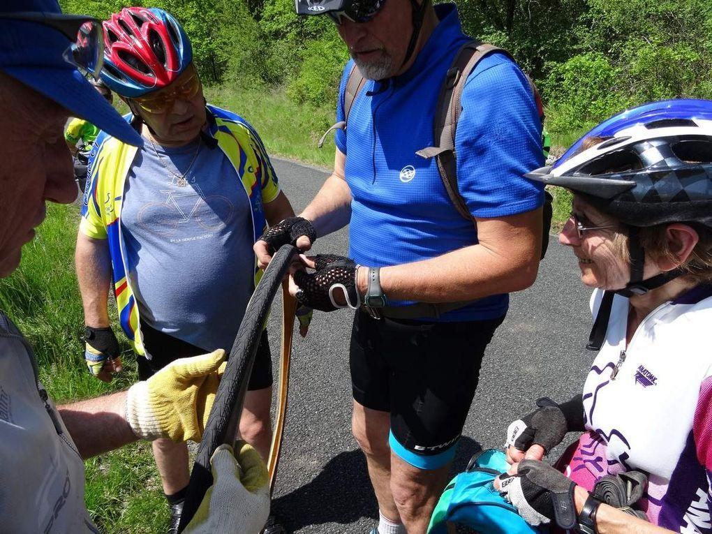 Cyclos Randonneurs entre Bouriane et Vallée du Céou