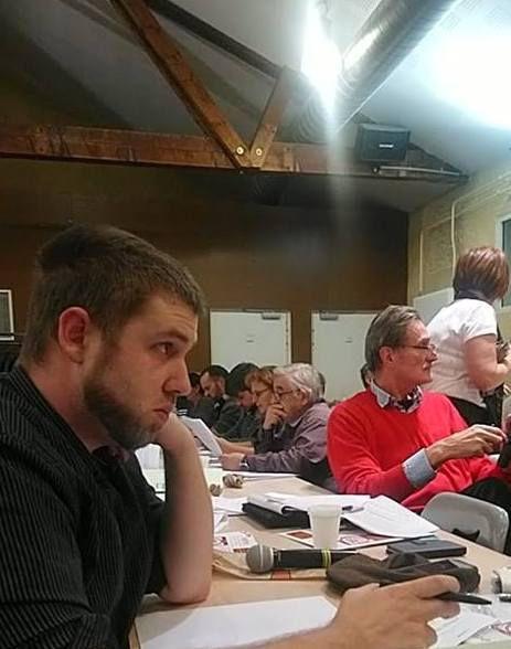 Le congrès, la commission du texte au travail et la fête !