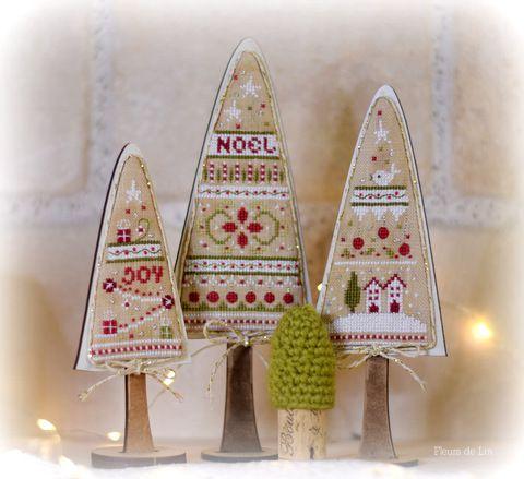 Trio de sapins Tradition
