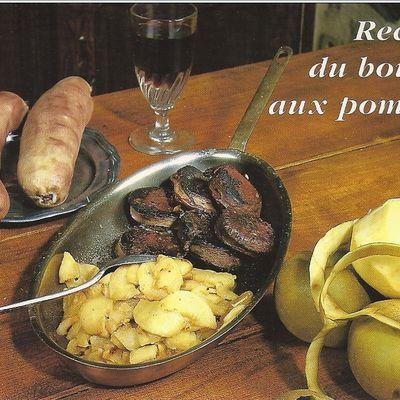 Auvergne des traditions   :           Boudin aux Pommes