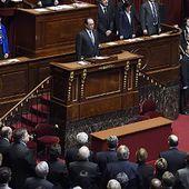 """Révision de la Constitution, intensification des frappes : les annonces de Hollande pour """"la guerre contre Daech"""" - Politique - MYTF1News"""