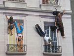 In perceptions: Bâtiment de Leandro Erlich au 104, trompe-l'oeil, illusion et vertige