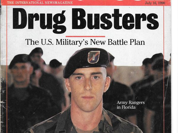 Drugbusteurs ! The US military new battle plan .
