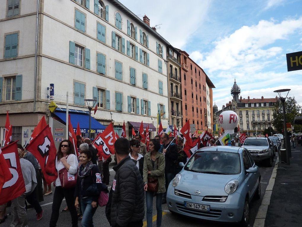 """700 manifestants au Puy pour l'abrogation de la loi El Khomri : """"on ne lâche pas!"""""""