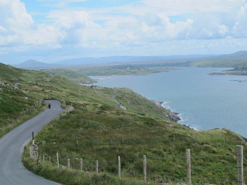 Ensuite, direction le CONNEMARA sur la côte Ouest de l'IRLANDE.