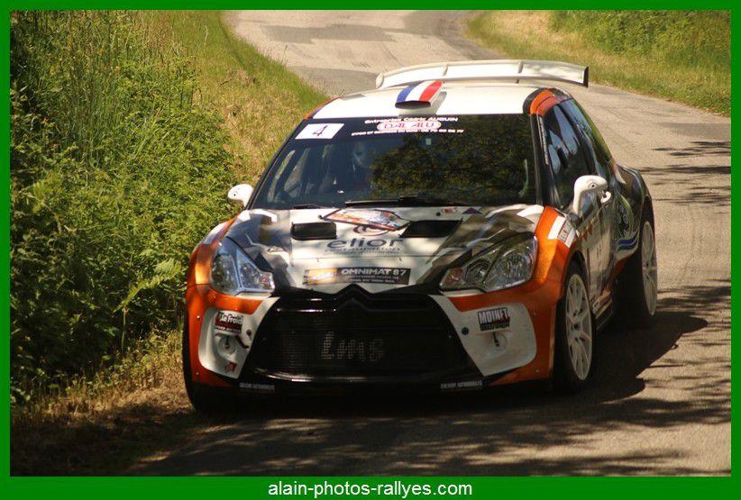 Rallye régional de la Briance 2021