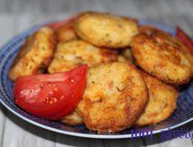 Maakouda (ou galettes) de pomme de terre et de thon