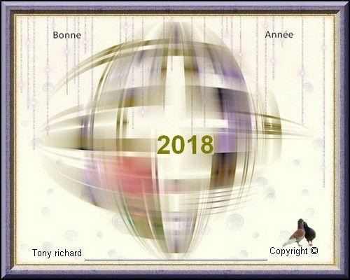 NOUVELLES FACETTES 2018 - NOUVELLES FACETTES 2018 PAR TONY RICHARD LE 23 DÉCEMBRE 2017 - HAPPY NEW YEAR LA POÉSIE DANS LE COEUR POÉTIQUEMENT PENSANT
