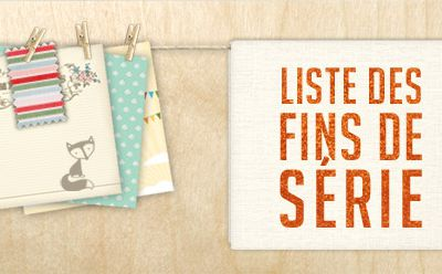 Promotions chez stampin'up