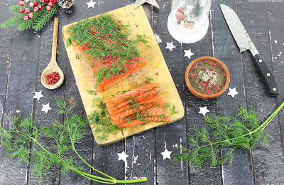 Saumon Gravlax {+Suggestion Recette}