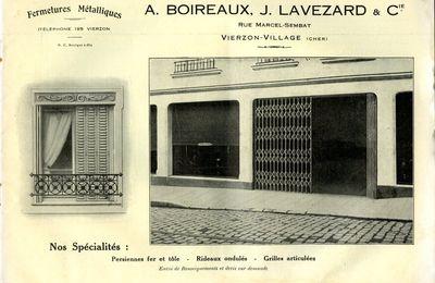 Dans le passé des entreprises vierzonnaises : Boireaux-Lavezard