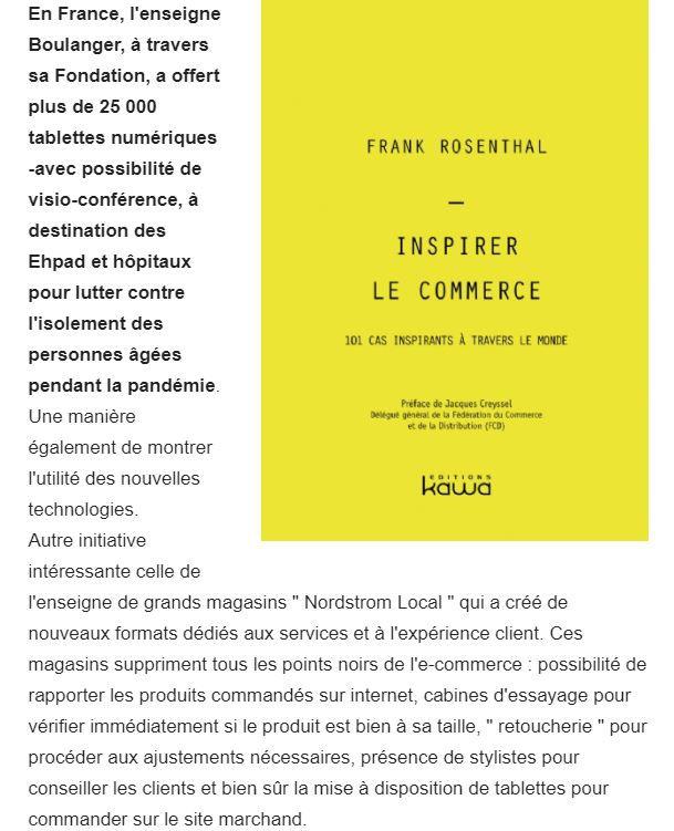 Dans les médias (192) : Inspirer le commerce : E-commerce Magazine