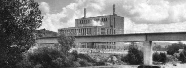 La centrale thermique de Vézézoux