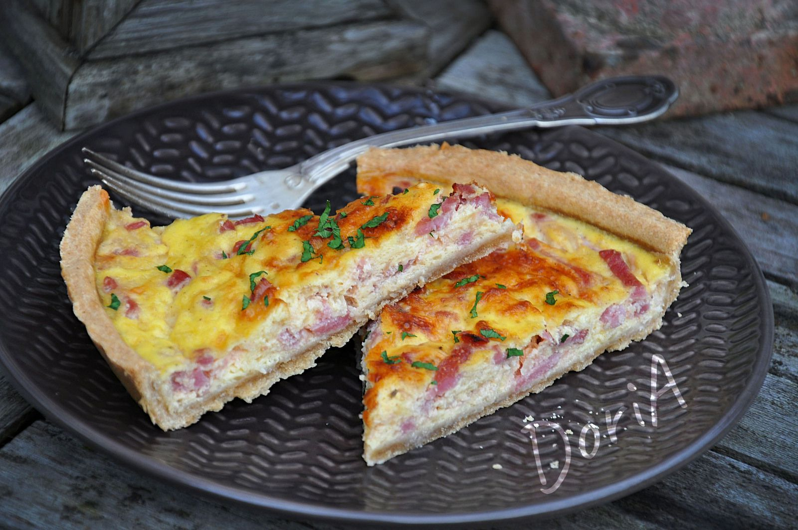 Quiche au bacon
