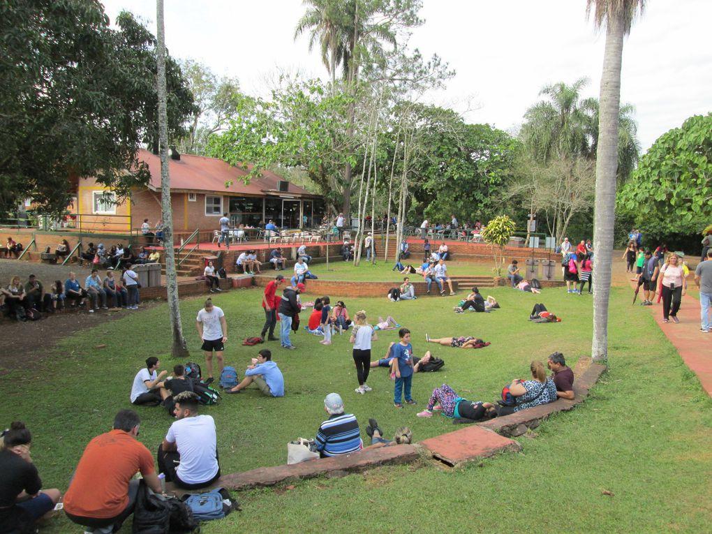 Voyage au Brésil et en Argentine …… aux chutes d'Iguaçu.