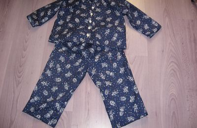 Pyjama garçon 3 ans