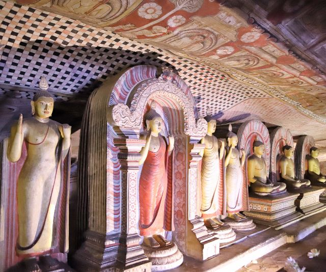 Royal rock temple - Dambulla - Sri Lanka