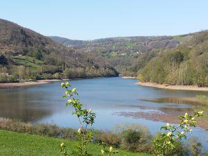 Randonnée à Cabanac commune de Sainte-Eulalie d'Olt