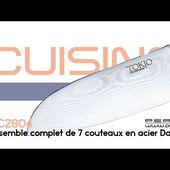 SET DE COUTEAUX DAMASSES - Usages & histoire - [PEARLTV.FR]