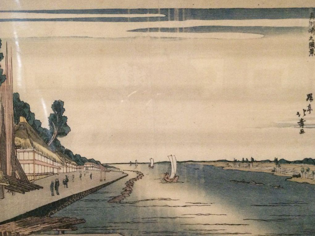 Hokuju, Kuniyoshi et Utamaro