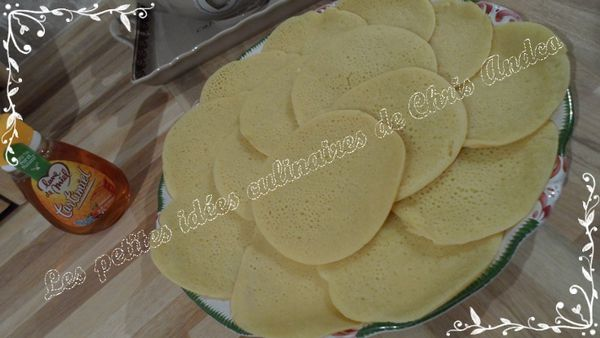 Beghrir ou crêpes marocaines aux mille trous