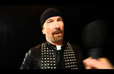 The Edge at the 2011 Q Awards