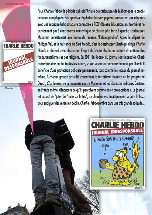 """""""JE SUIS CHARLIE, 5 ans déjà..."""" , exposition itinérante à imprimer"""