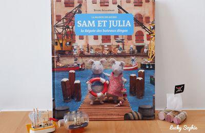Les souris Sam et Julia dans la régate des bateaux dingos !
