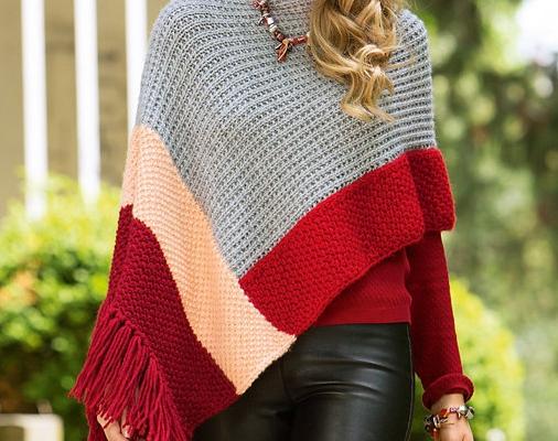 Tutos ponchos au tricot (2)