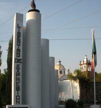A CUERNAVACA, UN MONUMENT SYMBOLIQUE EN HOMMAGE A LA LIBERTE D'EXPRESSION