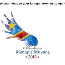 Monique Mukuna Mutombo, candidate à la présidentielle en République Démocratique du Congo