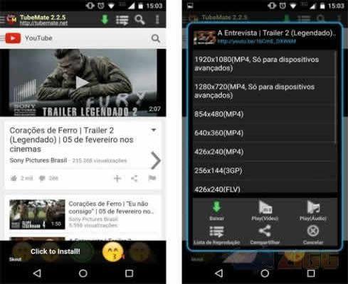 TubeMate YouTube Downloader, descargar videos de youtube desde android